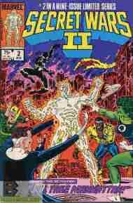 """Yesterday's"" Comic> Secret Wars II#2"