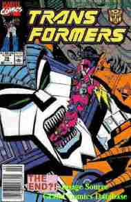 """""""Yesterday's"""" Comic> The Transformers#75"""