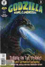 """""""Yesterday's"""" Comic> Godzilla #11 (DarkHorse)"""