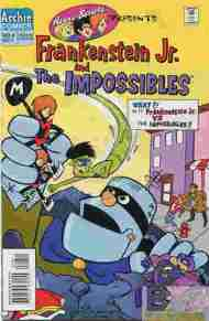 """Yesterday's"" Comic> Hanna-Barbera Presents #8 (Frankenstein Jr. & The Impossibles)"