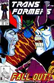 """Yesterday's"" Comic> The Transformers #77"