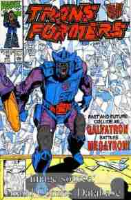 """Yesterday's"" Comic> The Transformers #78"
