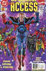 """""""Yesterday's"""" Comic> DC/Marvel: All Access#1"""