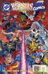 """Yesterday's"" Comic> DC Versus Marvel #4"
