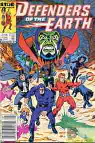 """Yesterday's"" Comic> Defenders Of The Earth #1"