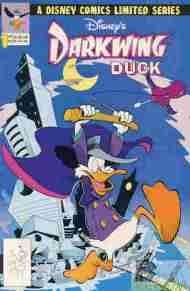 """Yesterday's"" Comic> Disney's Darkwing Duck#1"