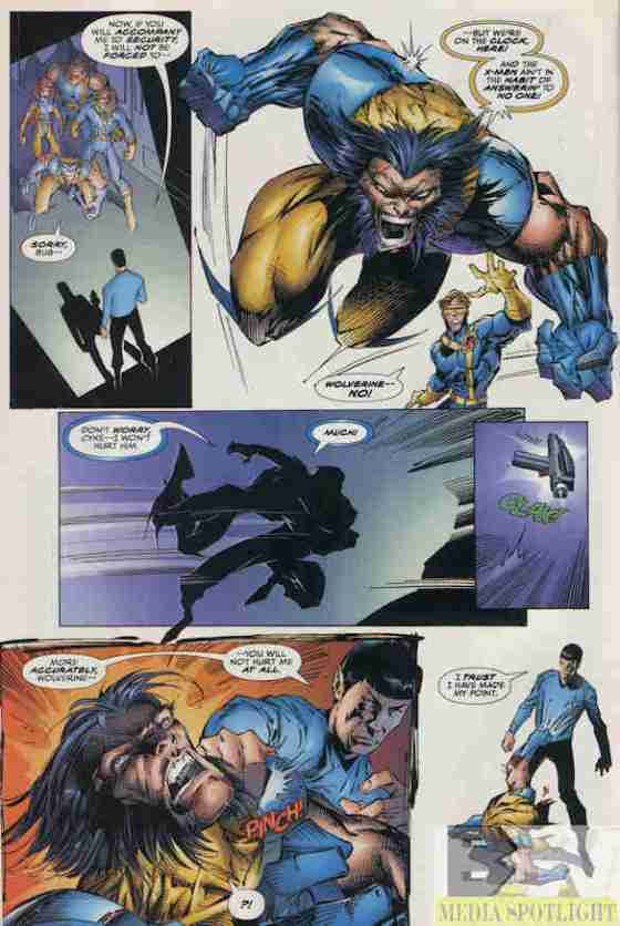 YAY! Wolverine Abuse!