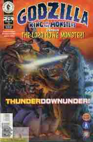 """Yesterday's"" Comic> Godzilla #15 (Dark Horse)"