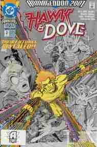 """Yesterday's"" Comic> Hawk & Dove Annual #2"