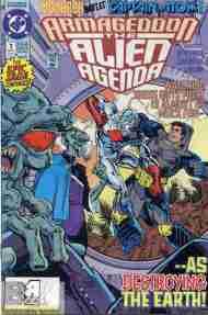 """Yesterday's"" Comic> Armageddon: The Alien Agenda#1"