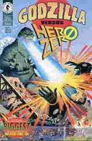 """""""Yesterday's"""" Comic> Godzilla Versus HeroZero"""
