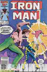 """Yesterday's"" Comic> Iron Man#210"