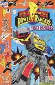 """""""Yesterday's"""" Power Ranger: Ninja Ranger/VR Troopers flip book#4"""