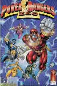"""Yesterday's"" Comic> Power RangersZeo"