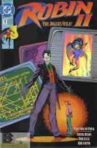 """Yesterday's"" Comic> Robin II#1"