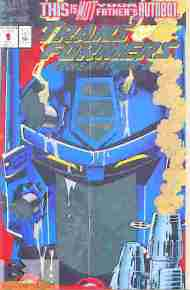 """Yesterday's"" Comic> Transformers: Generation Two #1"