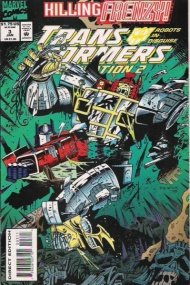 """Yesterday's"" Comic> Transformers: Generation Two #3"