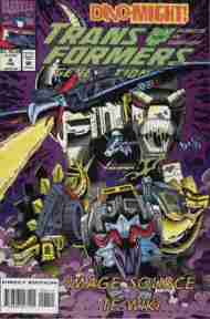 """Yesterday's"" Comic> Transformers: Generation Two #4"