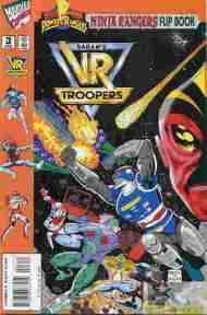 """Yesterday's"" Comic> Power Rangers: Ninja Rangers/VR Troopers Flip Book #3"