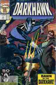 """Yesterday's"" Comic> Darkhawk #1"