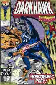 """""""Yesterday's"""" Comic> Darkhawk#2"""