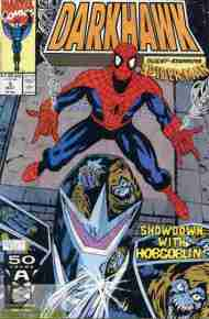 """Yesterday's"" Comic> Darkhawk #3"