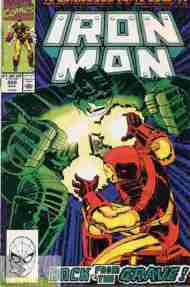 """Yesterday's"" Comic> Iron Man #259"
