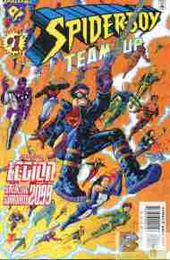 """Yesterday's"" Comic> Spider-Boy Team-Up"
