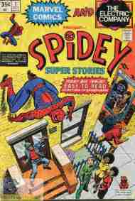 """Yesterday's"" Comic> Spidey Super Stories #1"