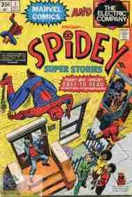 """Yesterday's"" Comic> Spidey Super Stories#1"