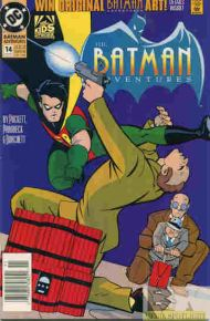 """Yesterday's"" Comic> The Batman Adventures #14"