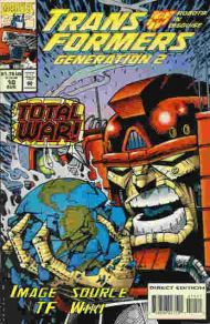 """Yesterday's"" Comic> Transformers: Generation Two #10"