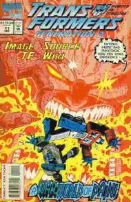"""Yesterday's"" Comic> Transformers: Generation Two #11"
