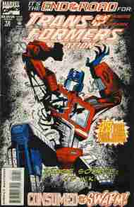 """Yesterday's"" Comic> Transformers: Generation Two #12"