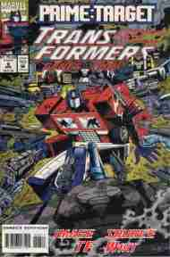 """""""Yesterday's"""" Comic> Transformers: Generation Two#6"""