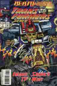 """""""Yesterday's"""" Comic> Transformers: Generation Two#7"""