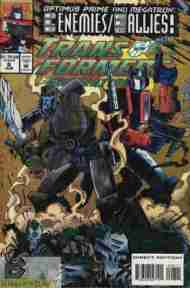 """Yesterday's"" Comic> Transformers: Generation Two #8"