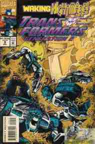 """""""Yesterday's"""" Comic> Transformers: Generation Two#9"""
