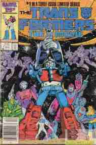 """Yesterday's"" Comic> Transformers: The Movie #1"