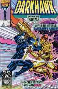 """""""Yesterday's"""" Comic> Darkhawk#5"""