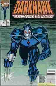 """""""Yesterday's"""" Comic> Darkhawk#7"""