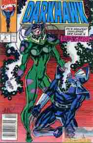 """Yesterday's"" Comic> Darkhawk #8"
