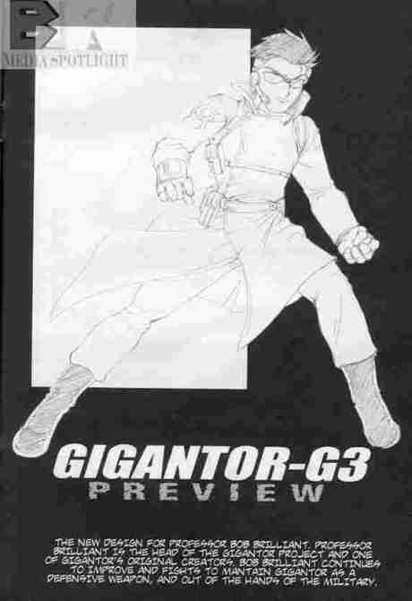 Gigantor G3 Bob Brilliant