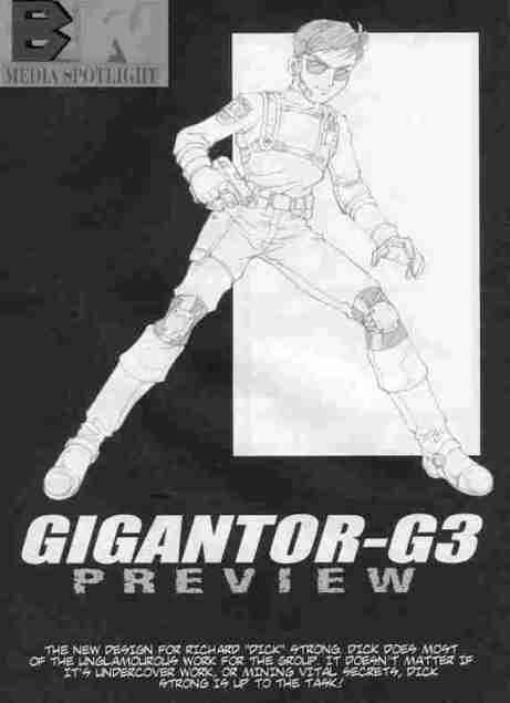 Gigantor G3 Dick Strong