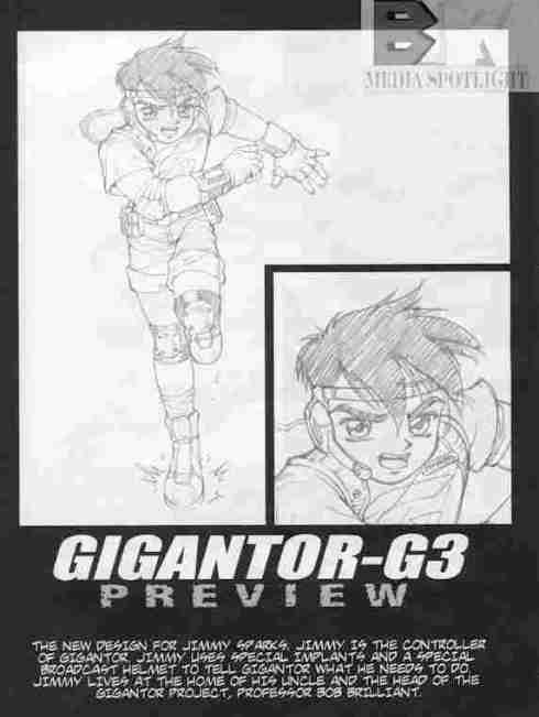 Gigantor G3 Jimmy Sparks