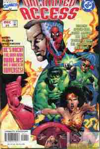 Marvel DC Unlimited Access #1