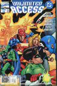 """""""Yesterday's"""" Comic> Marvel/DC: Unlimited Access#3"""
