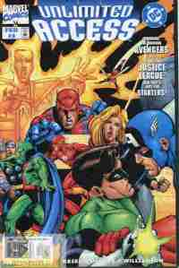 Marvel DC Unlimited Access #3