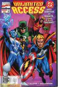 """""""Yesterday's"""" Comic> Marvel/DC: Unlimited Access#4"""