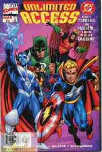 Marvel DC Unlimited Access #4